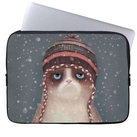Grumpy Cat Laptop Sleeve