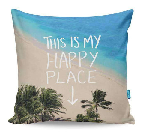 Happy Place Cushion Cover
