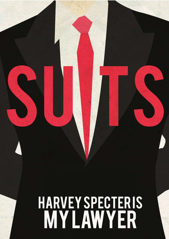 Harvey Specter Is My Lawyer Poster