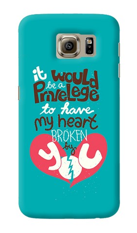 Heart Broken Samsung Galaxy S6 Case