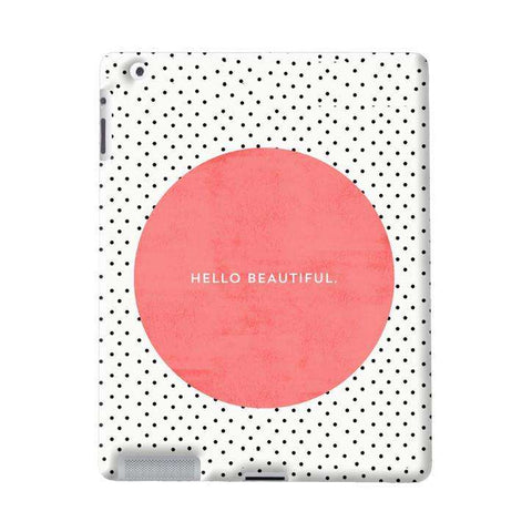 Hello Beautiful Apple iPad Case