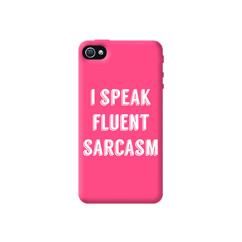 I Speak Apple iPhone 4/4S Case