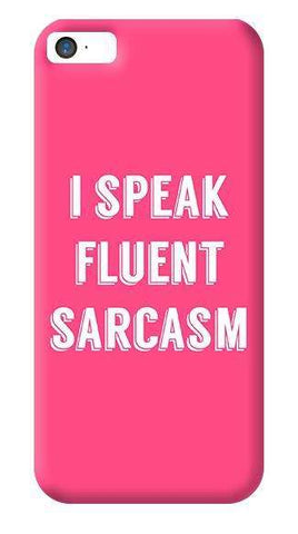 I Speak Apple iPhone 5/5S Case