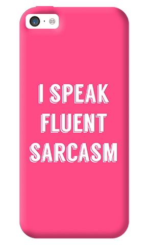 I Speak Apple iPhone 5C Case