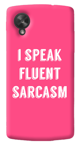 I Speak LG Nexus 5 Case