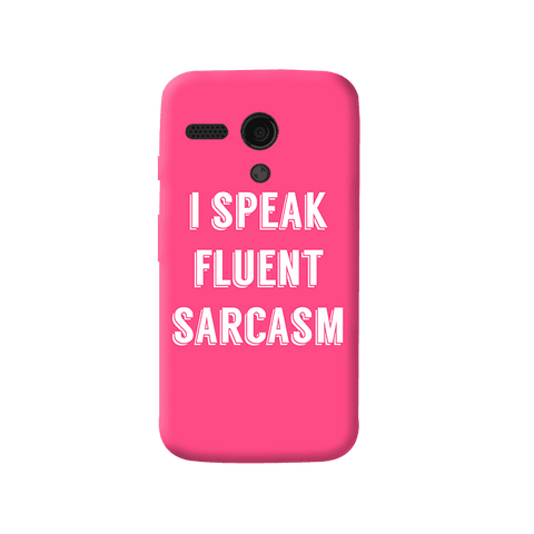 I Speak Moto G Case