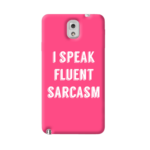 I Speak Samsung Galaxy Note 3 Case