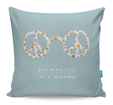 Imagine By John Lennon Cushion Cover