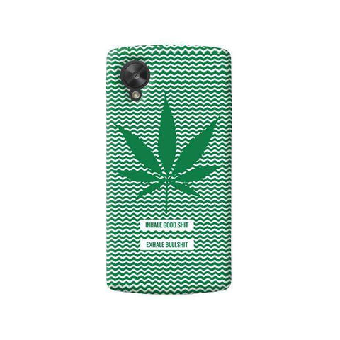 Inhale Exhale   LG Nexus 5 Case