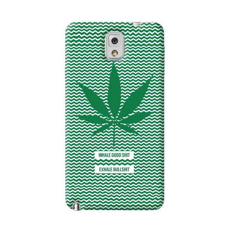 Inhale Exhale  Galaxy Note 3 Case