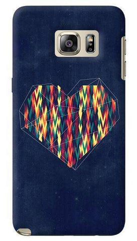 Interstellar Heart  Samsung Galaxy Note 5 Case