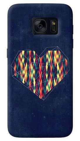 Interstellar Heart  Samsung Galaxy S7 Edge Case
