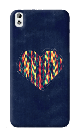 Interstellar Heart HTC Desire 816 Case