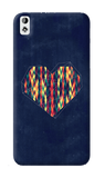 Interstellar Heart HTC Desire 820 Case
