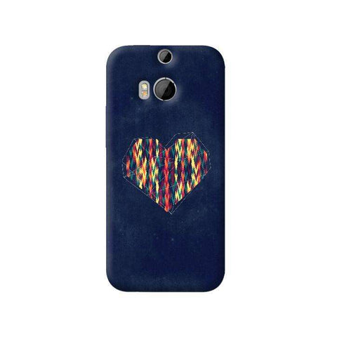 Interstellar Heart HTC One M8 Case
