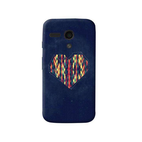 Interstellar Heart Moto G Case
