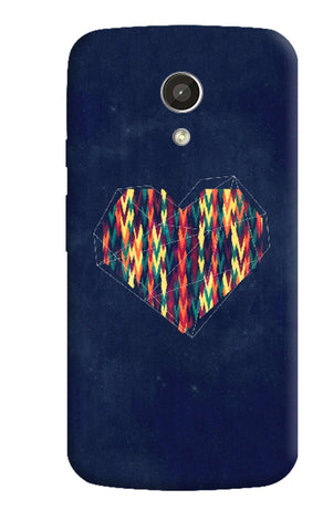 Interstellar Heart Motorola Moto G 2nd Gen Case