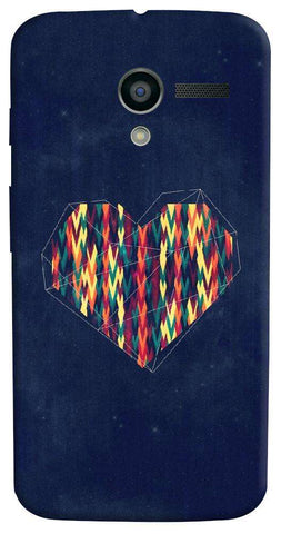 Interstellar Heart Motorola Moto X Case