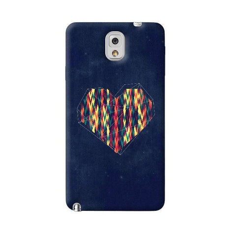Interstellar Heart Samsung Galaxy Note 3 Case