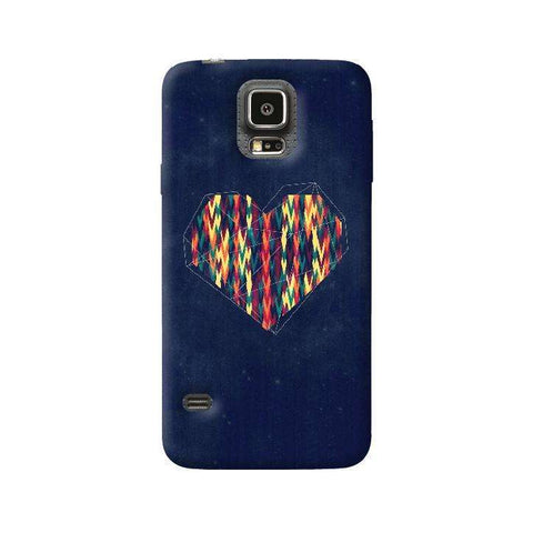 Interstellar Heart Samsung Galaxy S5 Case