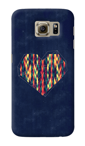 Interstellar Heart Samsung Galaxy S6 Case