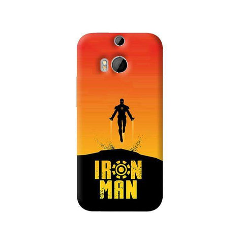 Ironman Retro   HTC One M8 Case