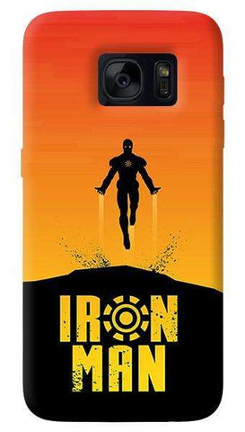 Ironman Retro  Samsung Galaxy S7 Edge Case