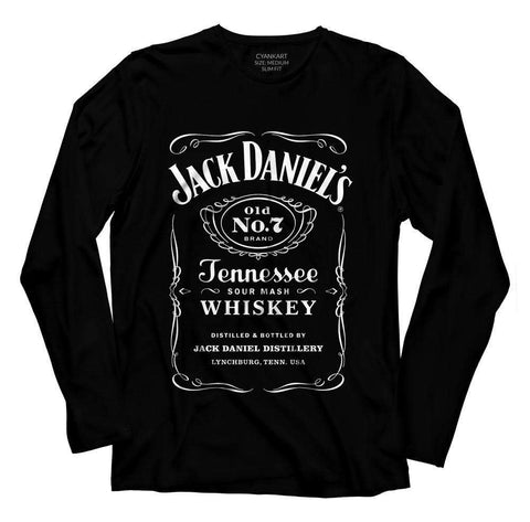 Jack Daniels Full Sleeve T-Shirt