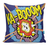 Kaboom Pop Art Cushion Cover
