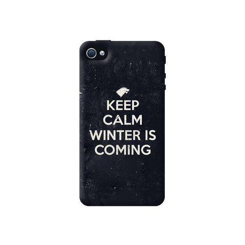 Keep Calm Winter is Coming Apple iPhone 4/4S Case