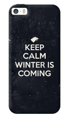 Keep Calm Winter is Coming Apple iPhone 5/5S Case