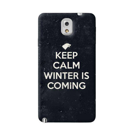 Keep Calm Winter is Coming Samsung Galaxy Note 3 Case