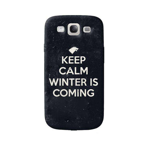 Keep Calm Winter is Coming Samsung Galaxy S3 Case