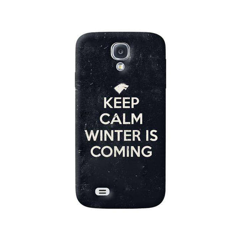 Keep Calm Winter is Coming Samsung Galaxy S4 Case