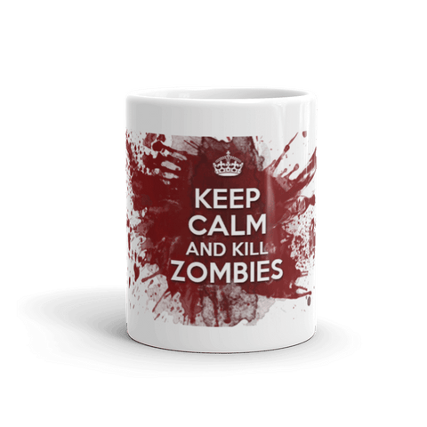 Kill Zombies Coffee Mug