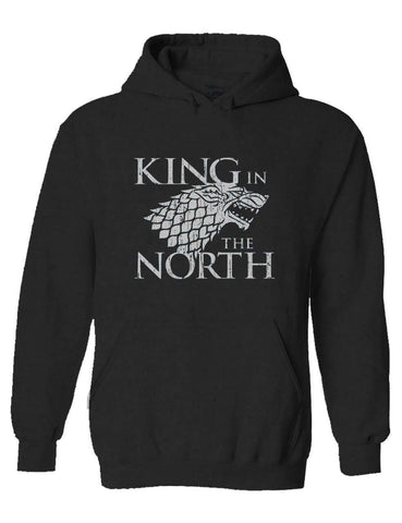 King In The North Anthra Pullover Hoodie