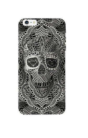 Lace Skull Apple iPhone 6 Plus Case