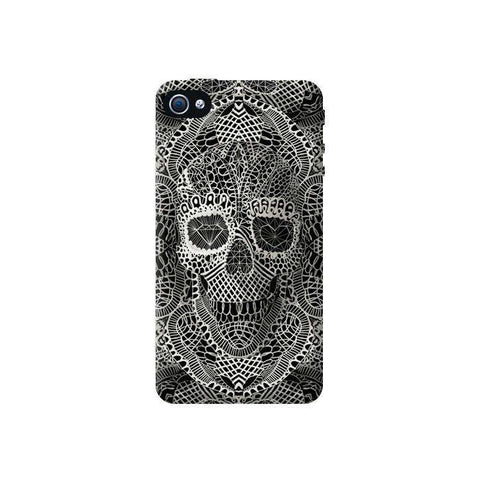 Lace Skull iPhone 4/4S Case