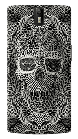 Lace Skull Oneplus One