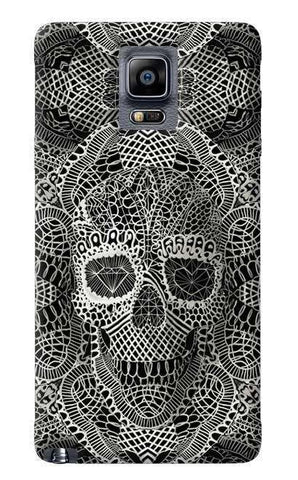 Lace Skull Samsung Galaxy Note 4 Case