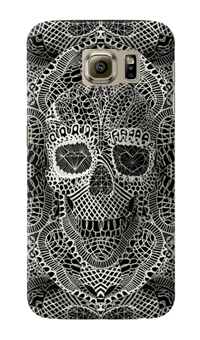 Lace Skull Samsung Galaxy S6 Case