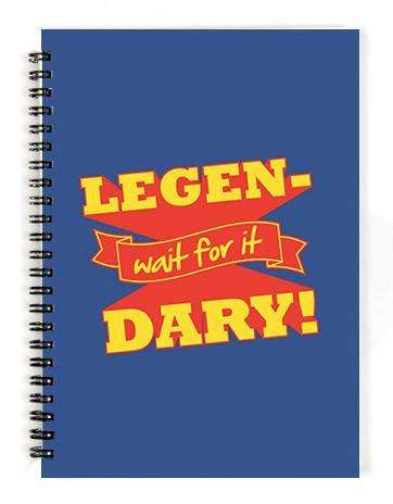 Legendary Notebook