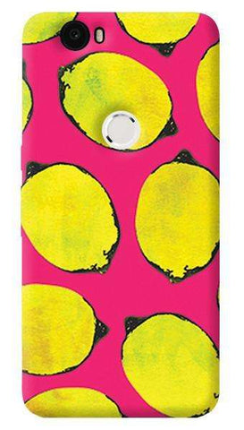 Lemon Pink  Nexus 6P Case
