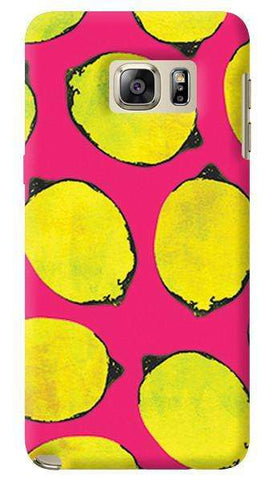 Lemon Pink  Samsung Galaxy Note 5 Case