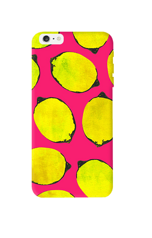 Lemon Pink Apple iPhone 6 Plus Case