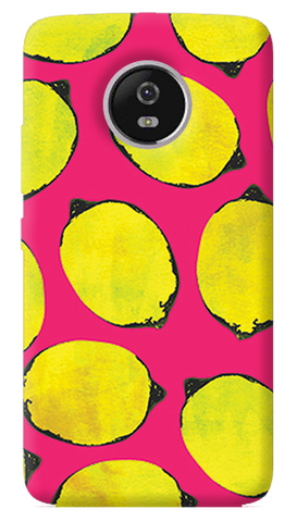Lemon Pink Motorola Moto G5 Plus Case