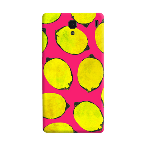 Lemon Pink Redmi 1S Case