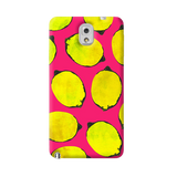 Lemon Pink Samsung Galaxy Note 3 Case