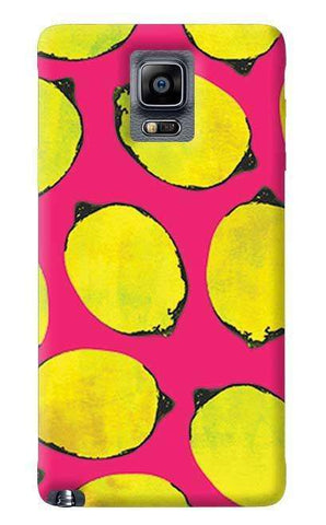 Lemon Pink Samsung Galaxy Note 4 Case