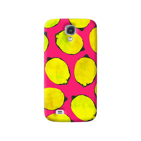 Lemon Pink Samsung Galaxy S4 Case